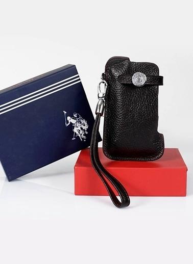 U.S.Polo Assn. Cep Telefonu Kılıfı Kahve